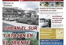 Presentamos la edición impresa del #4 del periódico @ fondo Estado de México.