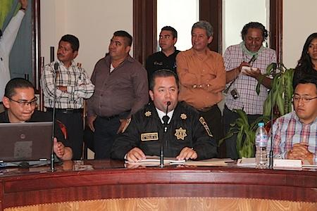 Policías municipales fueron dados de baja por inasistencias, documentación falsa y positivo en antidoping.
