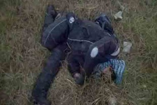 El motociclista murió de manera inmediata.