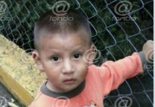 Policías y familiares buscan a niño de tres años desaparecido en Edomex