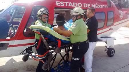 HELICOPTERO HERIDO