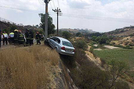 En el accidente no hubo heridos.