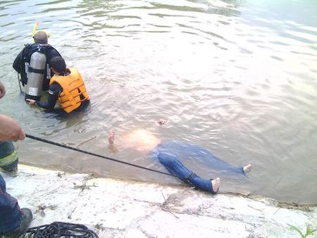 ahogado presa