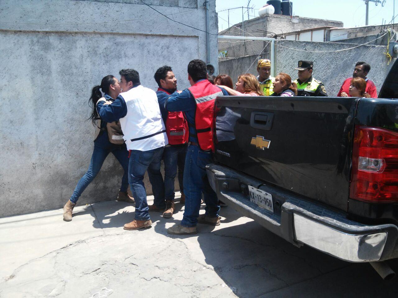 Los trabajadores fueron agredidos al ingresar a un callejón.
