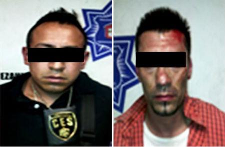 Los delincuentes fueron alcanzados en la Ciudad de México.