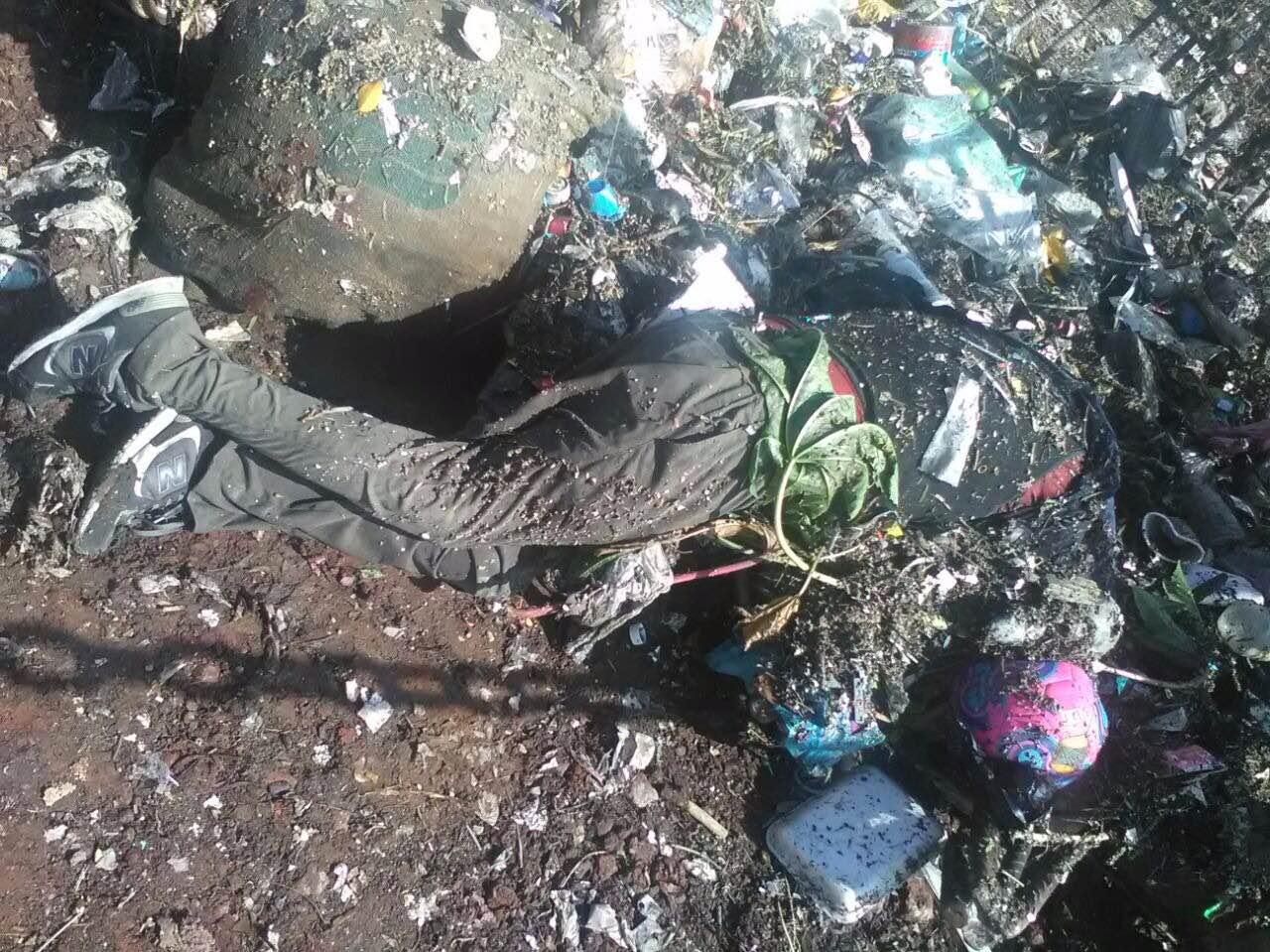 Trabajadores de ODAPAS encontraron el cuerpo.