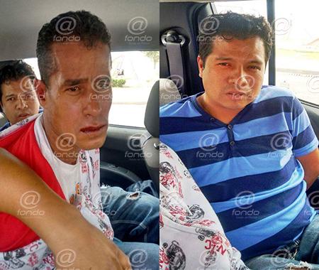 El afectado reconoció a los asaltantes en el lugar de la detención.