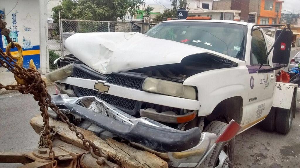 No se registraron heridos ni fuga de combustible.