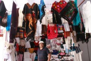 Los comerciantes chinos toma fotos y plagian las obras.