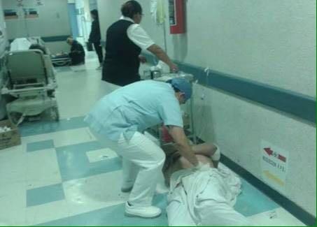 Medicos y enfermeras y han empezado a presentar síntomas de enfermedades derivadas de esta situación.