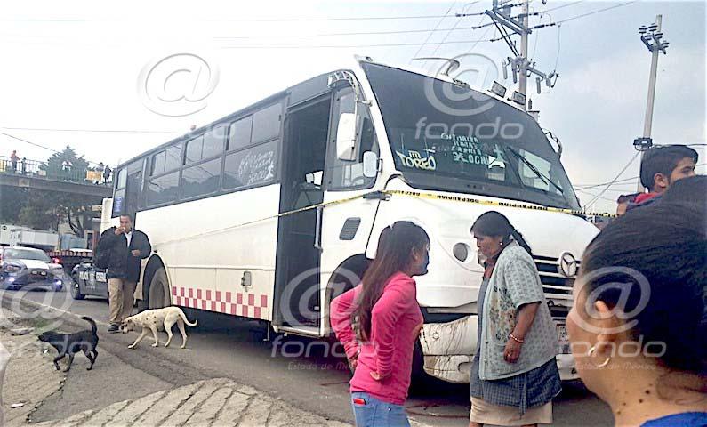 autobus atropella