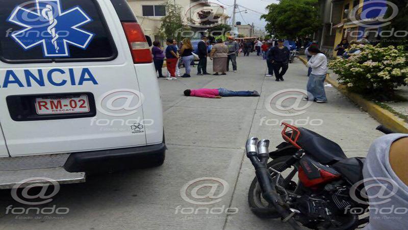 La mujer entró en crisis nerviosa durante el asalto.