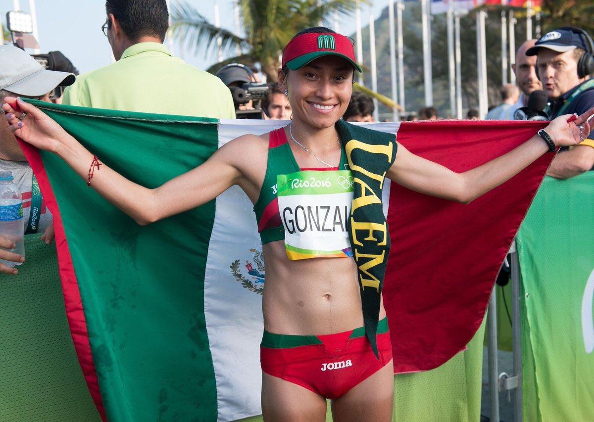 La deportista estuvo a segundos de obtener el oro.