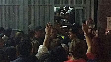 penal protesta