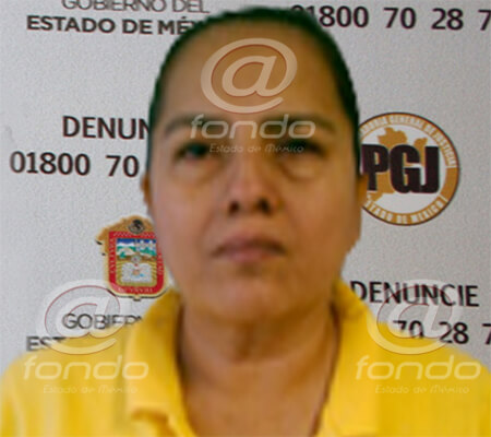 La mujer fue detenida en el estado de Guerrero.