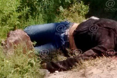 El cráneo de la víctima estaba completamente desfigurado.