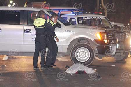 El chofer fue llevado ante el Ministerio Público.