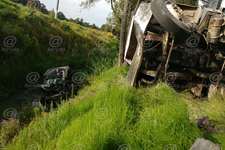 Un auto particular fue abandonado en el sitio.