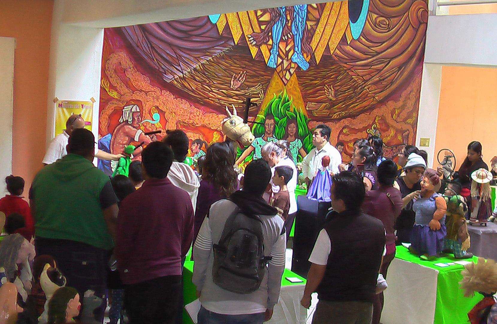 Estas actividades buscan unir a la población y enseñar arte a los niños.