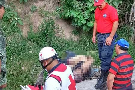 El hombre se golpeó el cráneo ye so le causó la muerte.