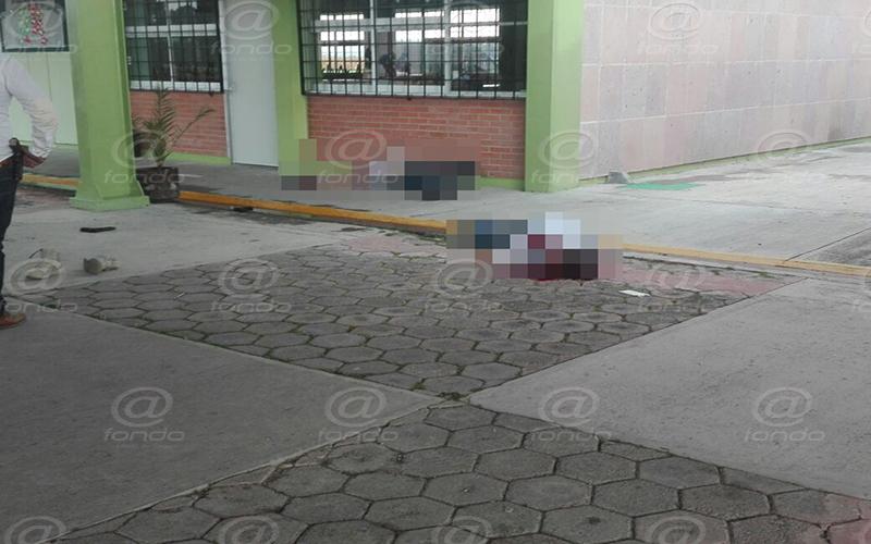 Un hombre murió en el hospital.