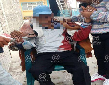 Los delincuente huyeron con 2500 pesos de la venta.