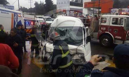 La falta de pericia de los choferes aumenta el riesgo de accidentes.