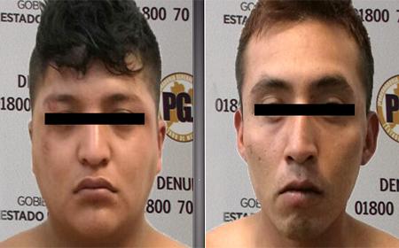 Horas antes también cometieron un robo en Texcoco.