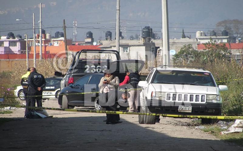 Los cuerpos presentaban varios impactos de arma de fuego.