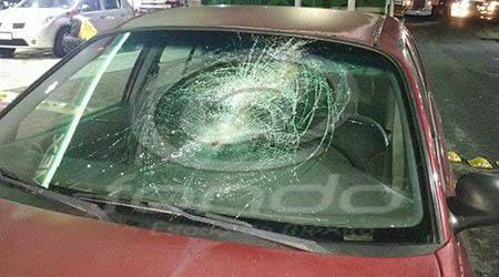 Conductores exigen que el seguro pague los daños.