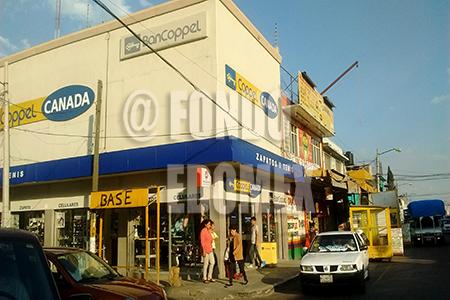 Las sucursales de Coppel en Ecatepec se han vuelto objeto de varios robos.