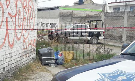 El lugar quedó resguardado en espera del Ministerio Público.