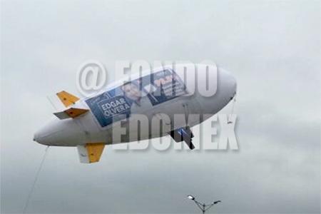 La aeronave es propiedad de una empresa contratada.