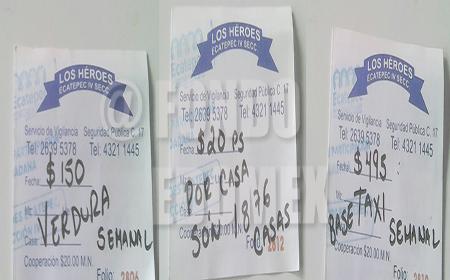 Denunciaron que utiliza sellos oficiales en los recibos.