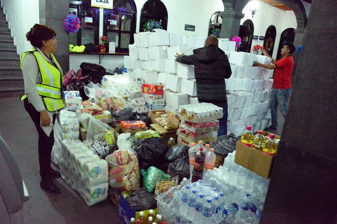 Poco más de 5 toneladas se recolectaron en dos días.