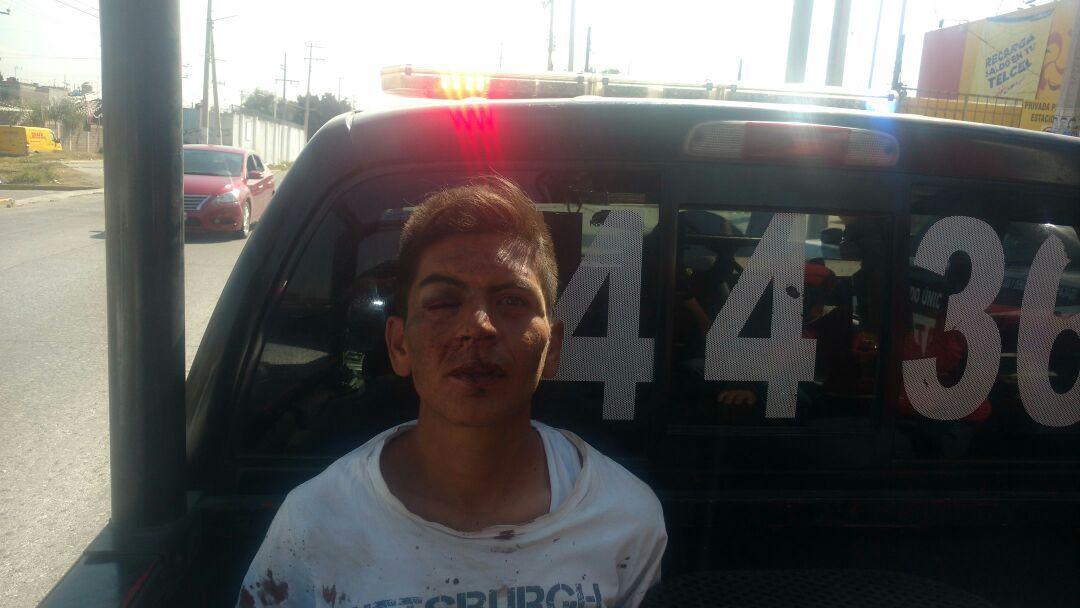 El delincuente fue trasladado al Ministerio Público de San Cristóbal.