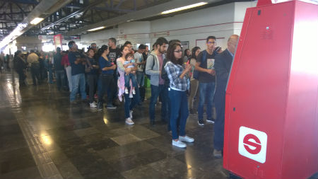 El tren aún no cumple la cantidad de pasajeros diarios esperados
