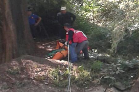 Fue necesario el apoyo de rescatistas para recuperar los cadáveres